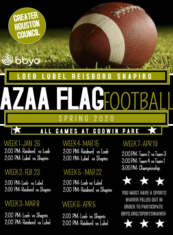 AZAA Flag Football Week 3 image