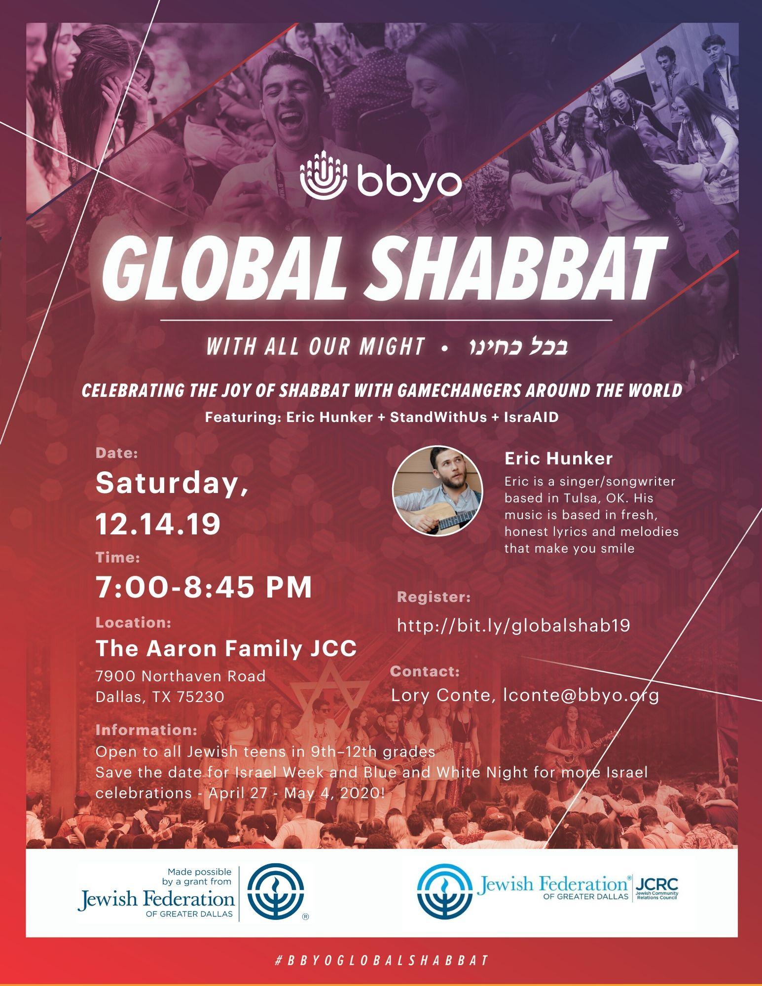 Global Shabbat image