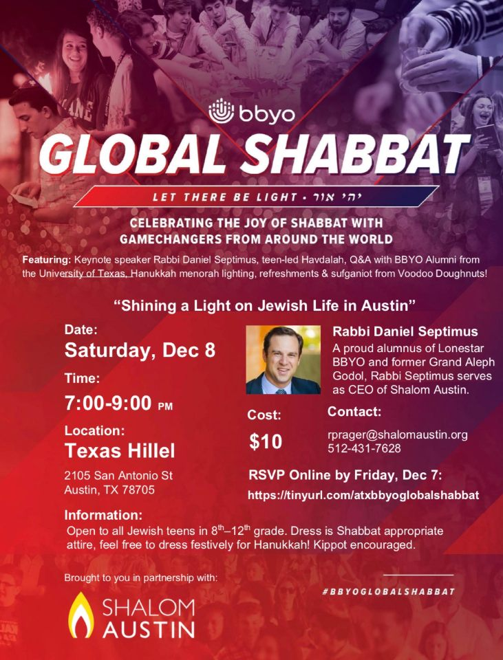 Austin Global Shabbat image