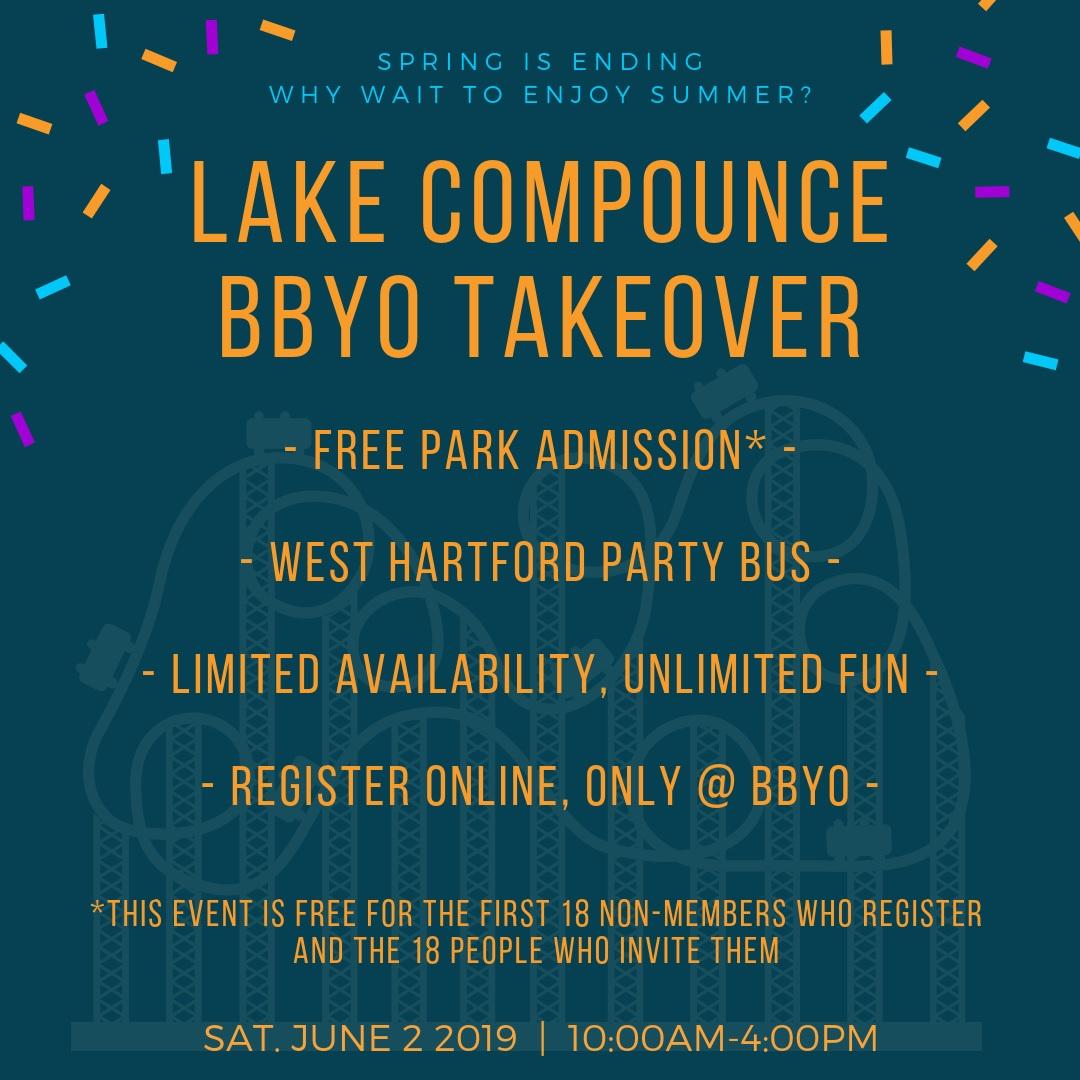 Lake Compounce BBYO Takeover image