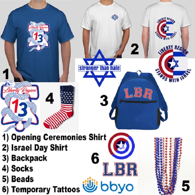 Liberty Region International Convention (IC) Swag Pack image