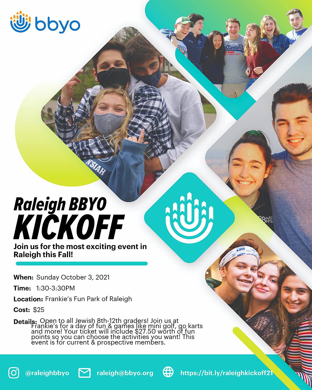 Raleigh Kickoff! image