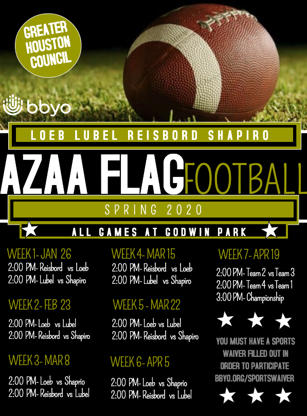 AZAA Flag Football Week 7 image