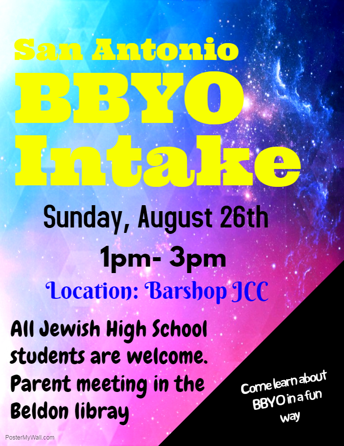 San Antonio BBYO Intake Night image