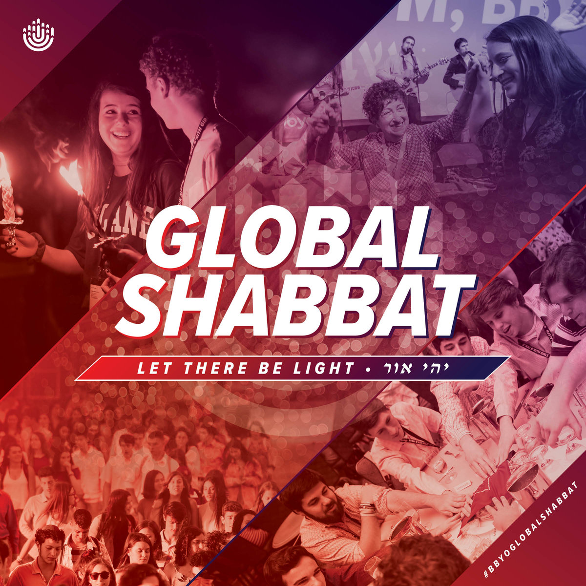 BBYO CRW Global Shabbat Let There Be Light image