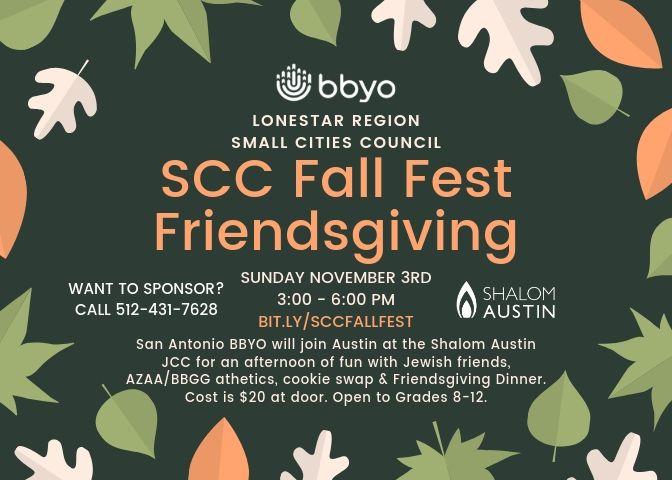 SCC Fall Fest Friendsgiving image