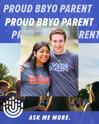 Proud BBYO parent